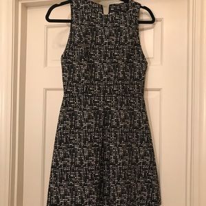 Black and White Checkered Alice and Olivia Dress